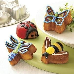 Formičky na mini bábovičky, zvířátka z louky