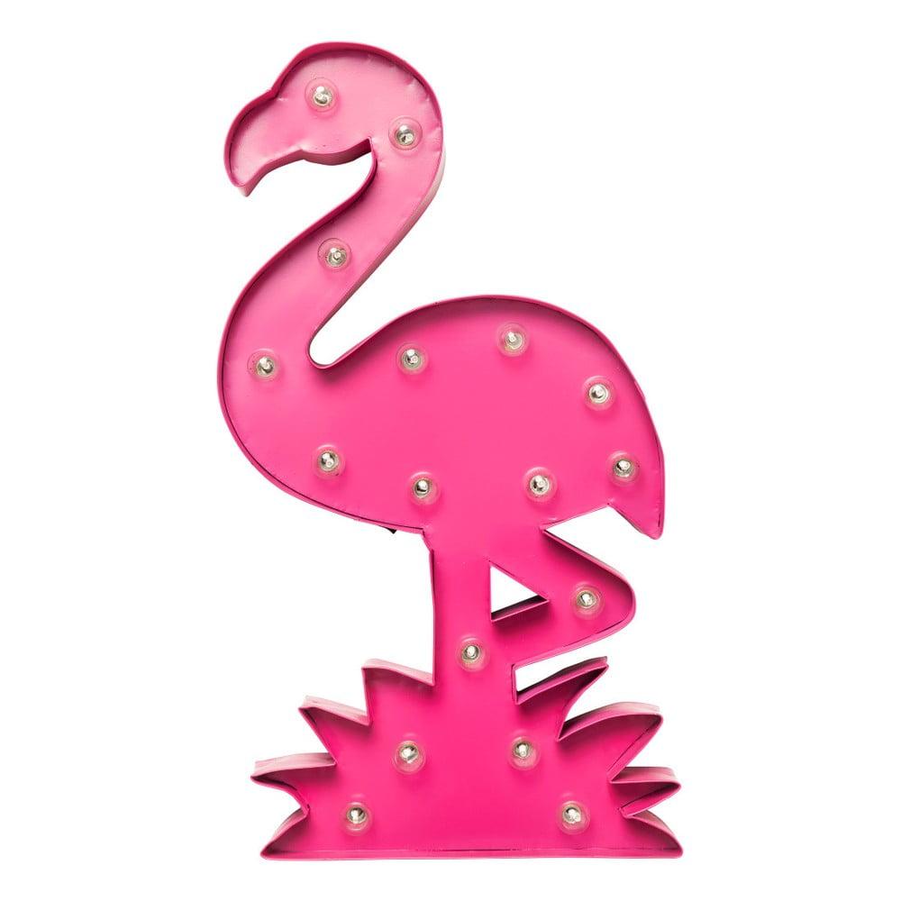 Nástěnná svítící dekorace Kare Design Flamingo