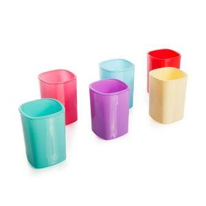 Sada 6 barevných skleniček Taksim