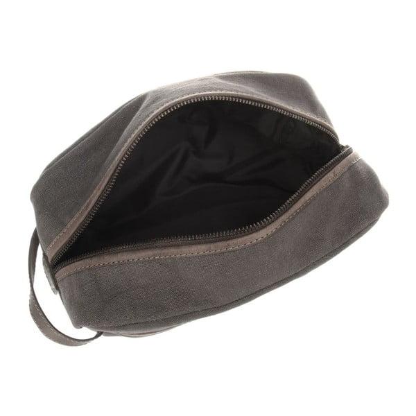 Kožená kosmetická taška Lake Vintage Slate