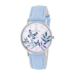 Dámské hodinky s řemínkem v modré barvě Olivia Westwood Manna