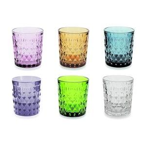 Sada 6 barevných sklenic Villa d'Este Fiji-Rio