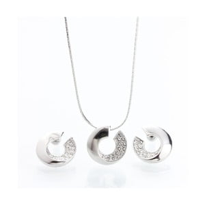 Set náhrdelníku a náušnic se Swarovski Elements Laura Bruni Atola