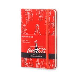 Zápisník Moleskine Coca-Cola, malý, nelinkovaný