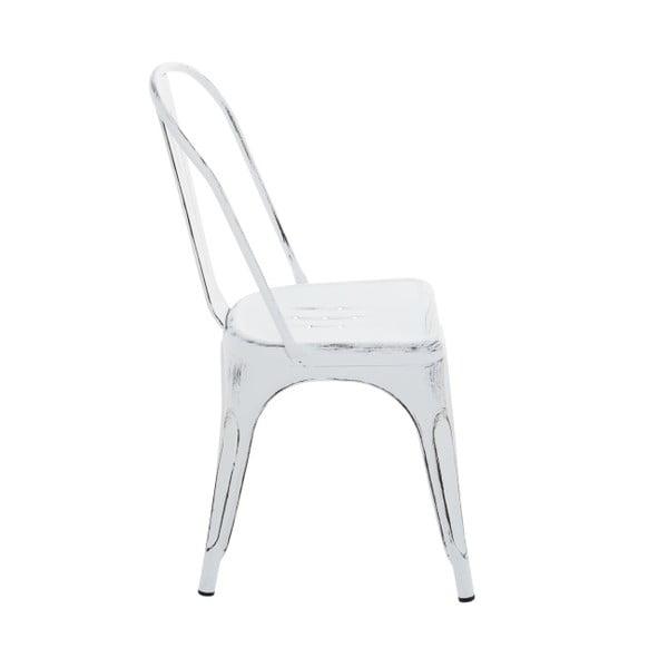 Bílá jídelní židle InArt Antique