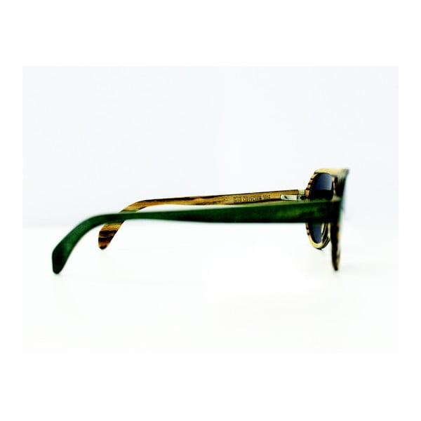 Dřevěné brýle Andwe Green Bomb