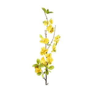 Umělá květina se žlutými květy Ixia Pear Tree, výška114cm