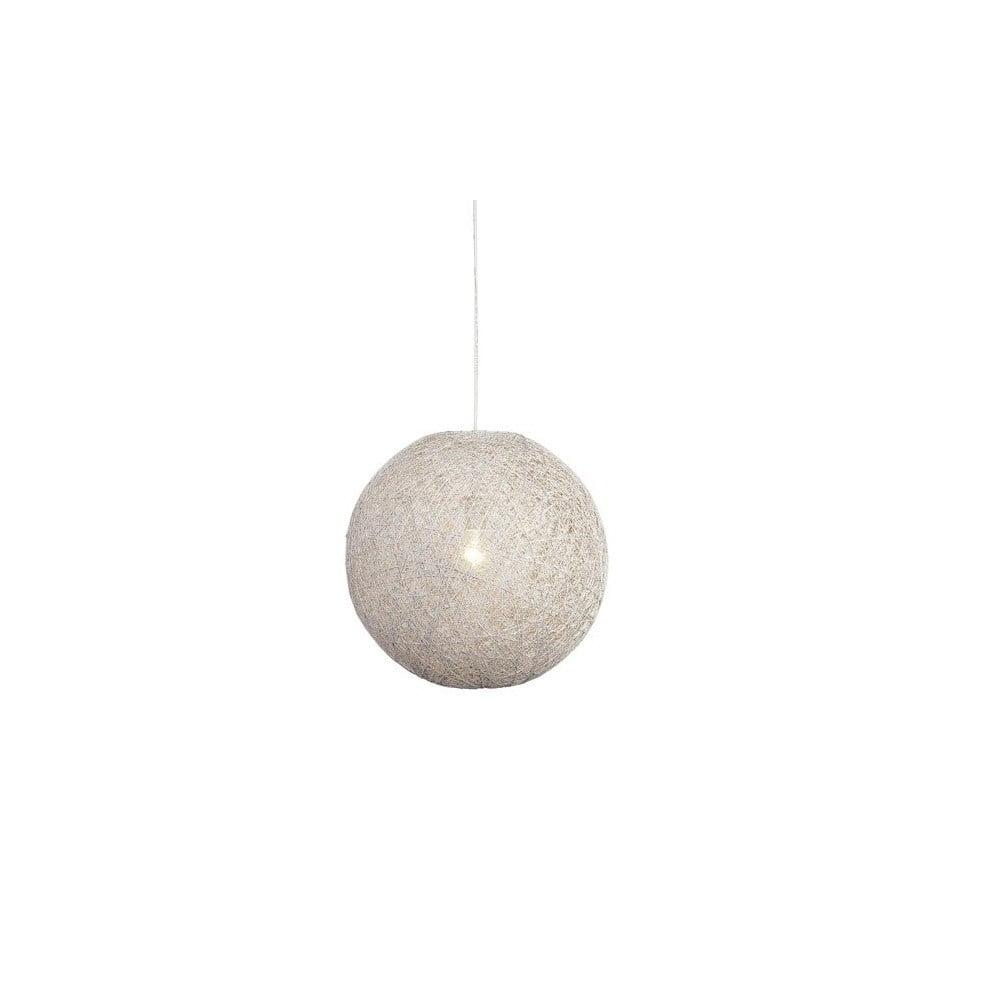 Bílé stropní svítidlo LABEL51 Twist, ⌀ 45 cm