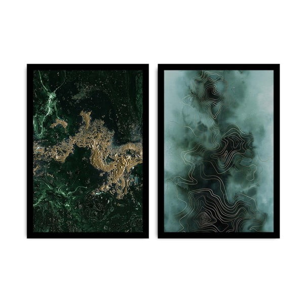 Sada 2 obrazů Alpyros Carissio
