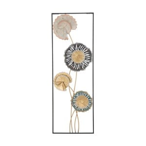 Železná nástěnná dekorace s květinovými motivy Mauro Ferretti Let Right