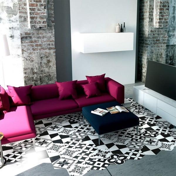 Set 10 autocolante impermeabile pentru podea Ambiance Pinocito, 20 x 18 cm