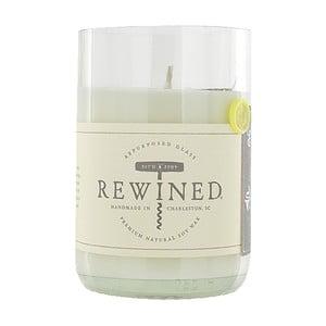 Lumânare Rewined Candles Chenin Blanc, 80 ore
