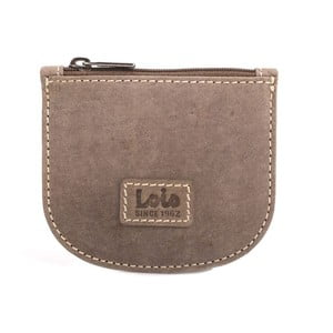 Kožená peněženka na drobné Lois Brown, 9,5x8 cm
