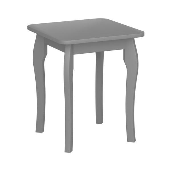Tmavě šedá stolička k toaletnímu stolku Steens Baroque