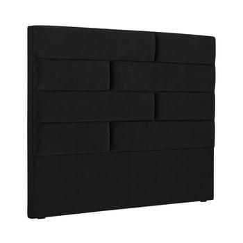 Tăblie pat Cosmopolitan New York, lățime 140cm, negru