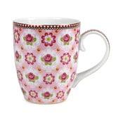 Hrnek Blossom Rose 350 ml, růžový