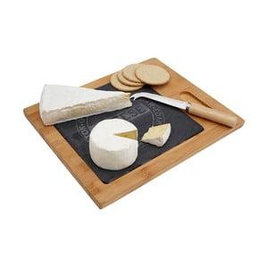 Set tocător servire brânzeturi și cuțit Premier Housewares Cheese