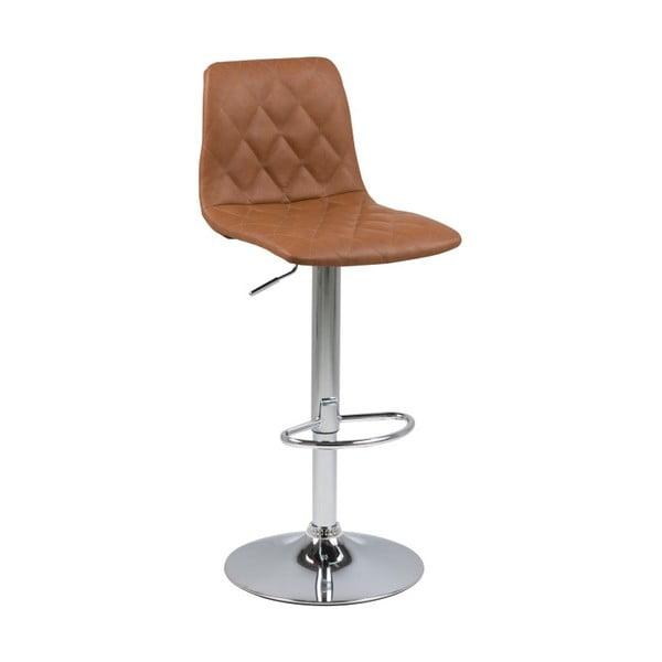 Hnědá barová židle Actona Emu