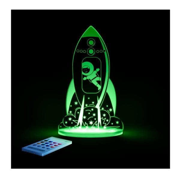 Dětské LED noční světýlko Aloka Rocket