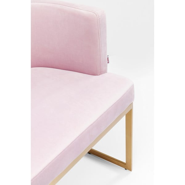 Růžová křeslo Kare Design Rumba