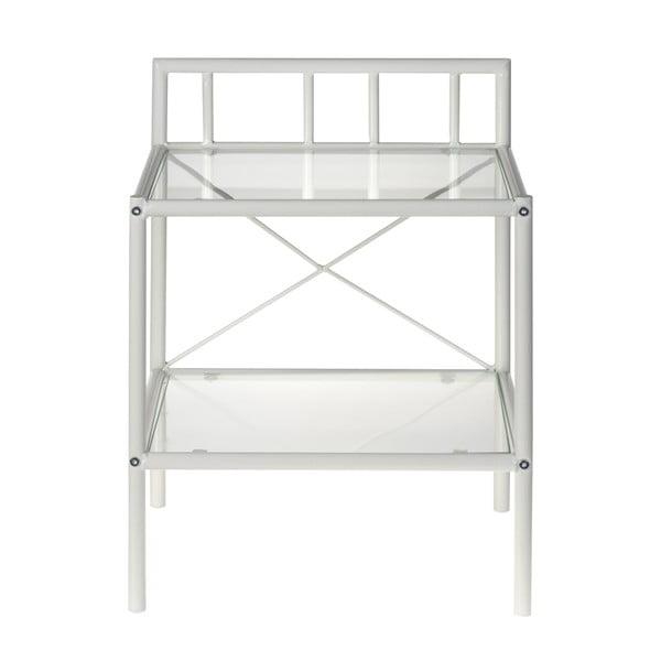Noční stolek Venedig, bílý