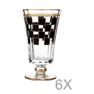 Set 6 pahare vin Mezzo Dama, 130 ml