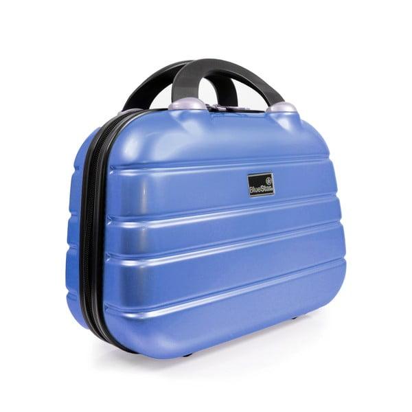 Sada příručního zavazadla a tašky Brand Developpement Vanity Case, modré