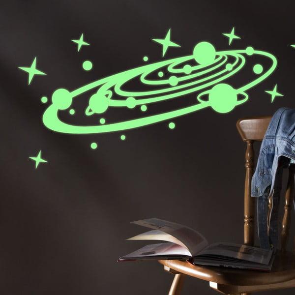 Svítící samolepka Fanastick The Galaxy