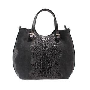 Černá kožená kabelka Ore Diece Piper
