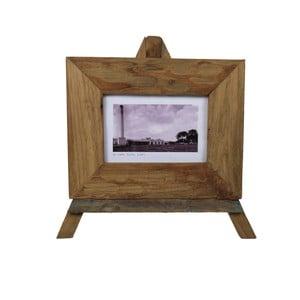 Rámeček na fotografie z teakového dřeva HSM Collection Nesia,34x27cm