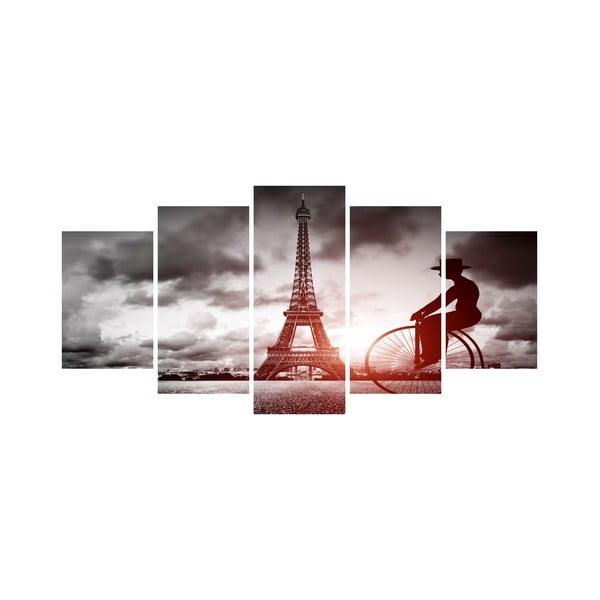 Vícedílný obraz Black&White no. 76, 100x50 cm