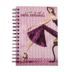 Zápisník Dress