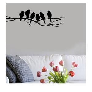 Vinylová samolepka na stěnu Ptačí sněm