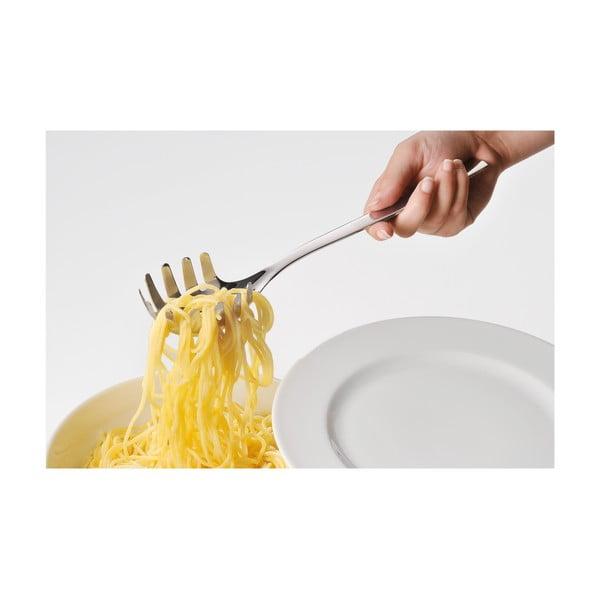 Naběračka na těstoviny z nerezové oceli Cromargan® WMF Nuova, délka 30 cm