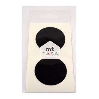 Set 10 autocolante washi MT Masking Tape Casa negru
