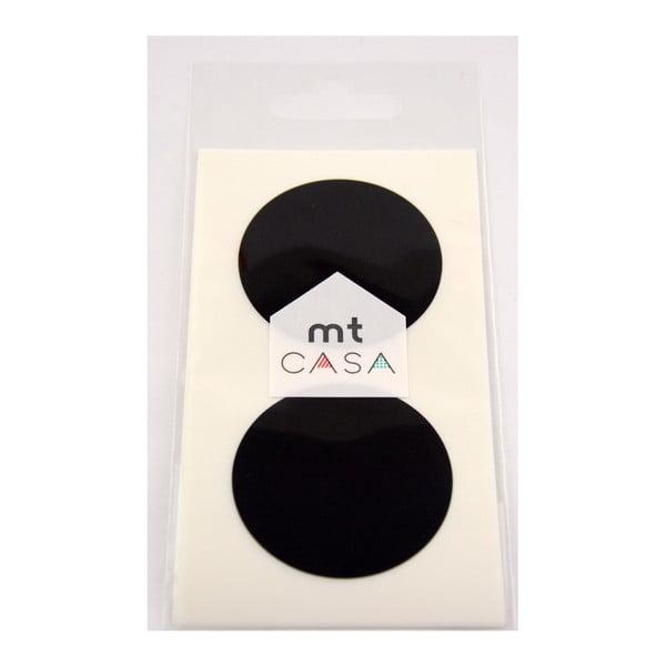 Set 10 autocolante washi MT Masking Tape Casa, negru