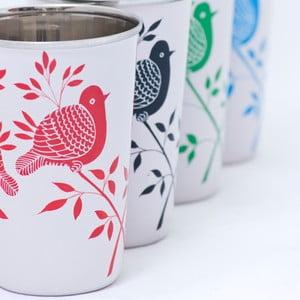 Hrnek Lolita Hand Painted Cup, červený
