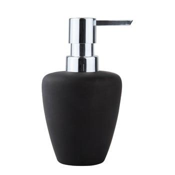 Dozator săpun lichid Zone Soft, negru