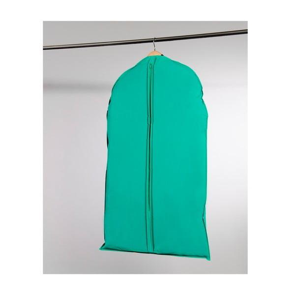 Textilní závěsný obal na šaty Compactor Garment Green, 100 cm