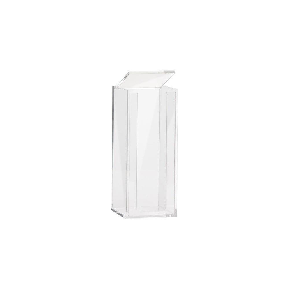 Transparentní zásobník na vatové tamponky Zone