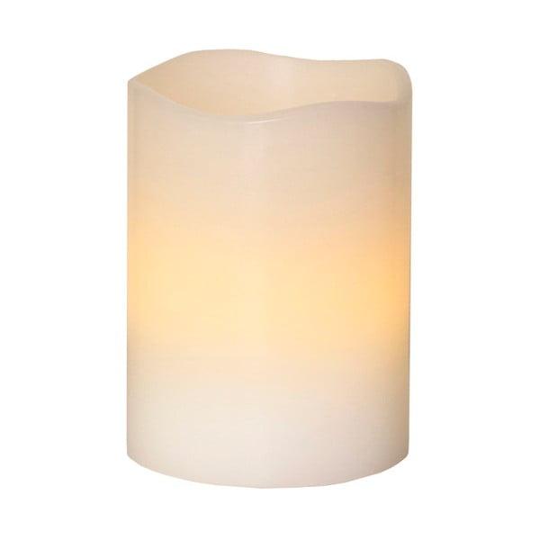 Vosková LED svíčka, 10 cm