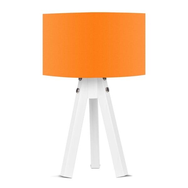 Bianca asztali lámpa narancssárga lámpaburával - Kate Louise