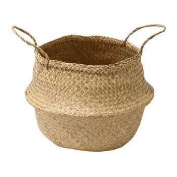 Coș depozitare din iarbă de mare Compactor Seagrass Basket, ⌀ 35 cm de la Compactor