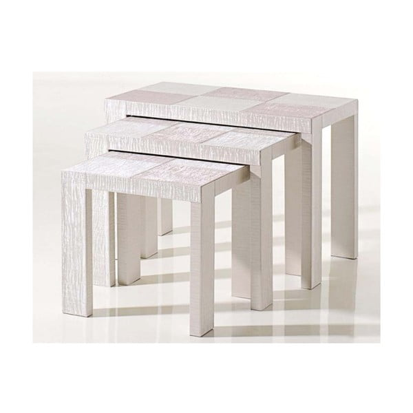 Stolky Table Nesting White
