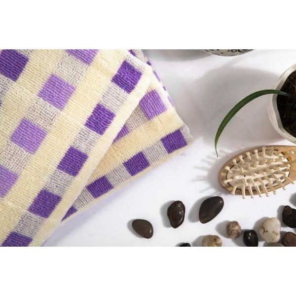 Sada 2 ručníků Liny Lilac, 40x80 cm