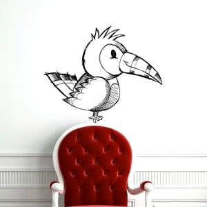 Samolepka Papoušek zleva, 86x70 cm