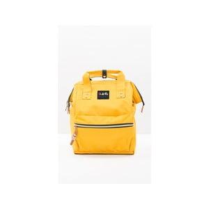 Žlutý dámský batoh Mori Italian Factory Cansa