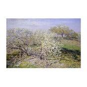 Obraz Claude Monet - Spring, 90x60 cm