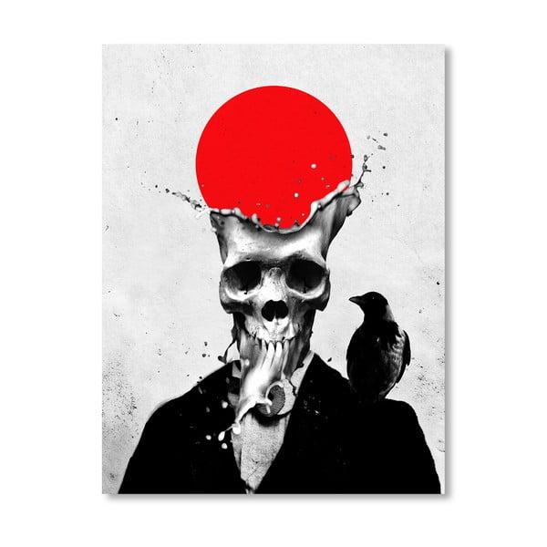 Autorský plakát Splash Skull