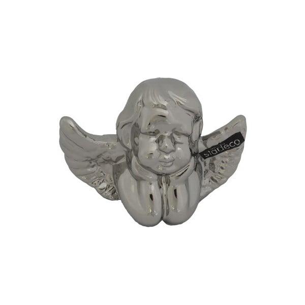 Dekorativní stříbrný andělíček